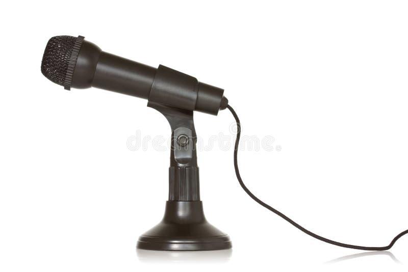 Download Svart dynamisk mikrofon arkivfoto. Bild av tv, musikal - 27287470