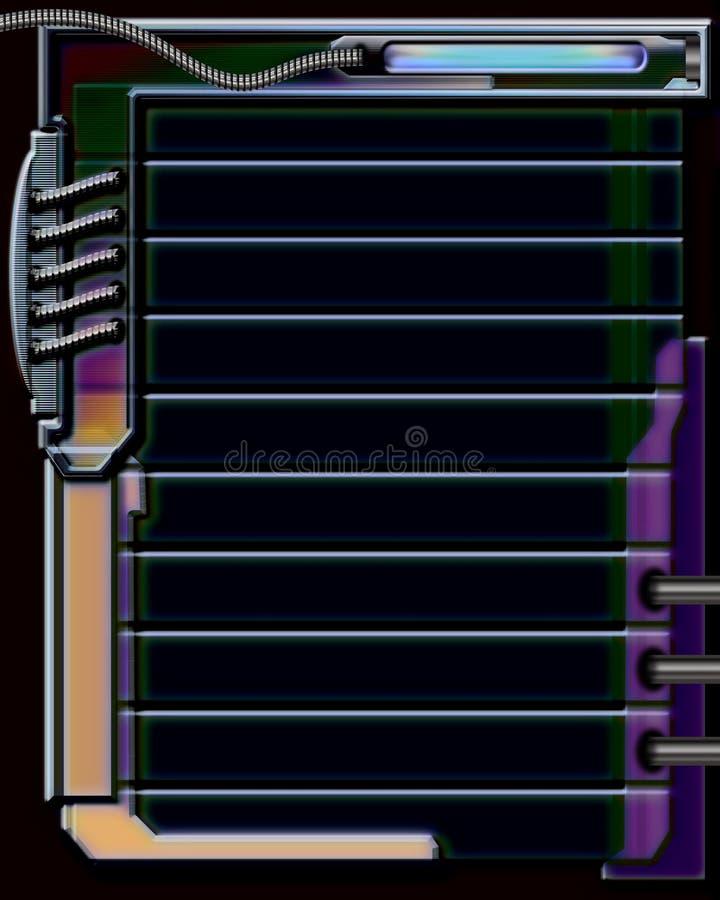 Svart Elektroniskt För Bakgrund Arkivbild
