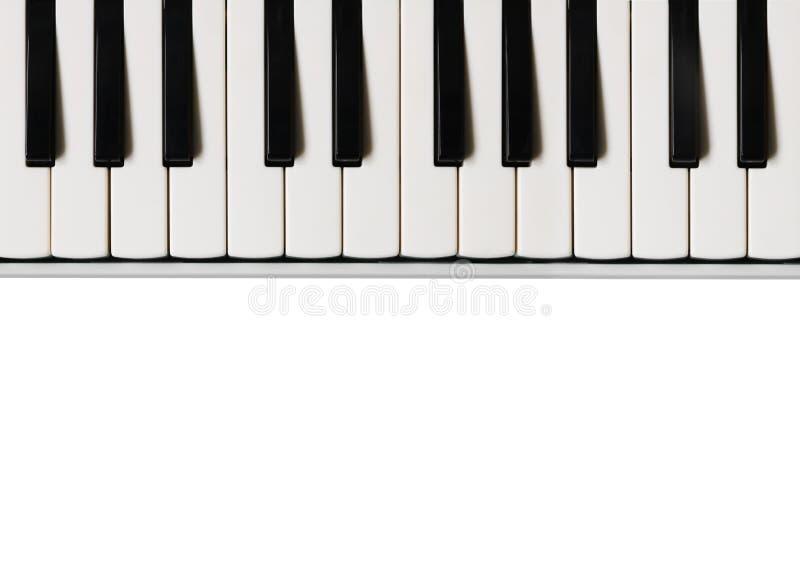 svart elfenben keys pianowhite Plan bakgrund för musikal arkivbilder