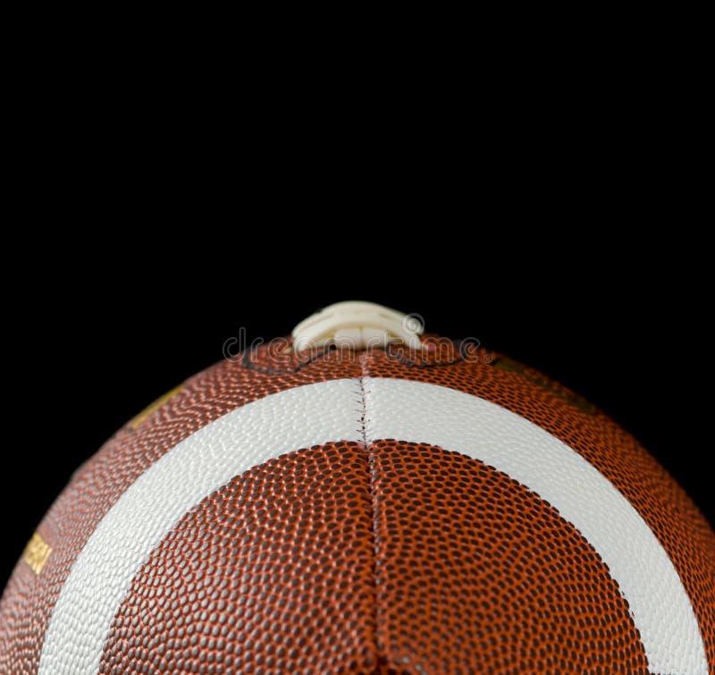 svart fotboll arkivbild