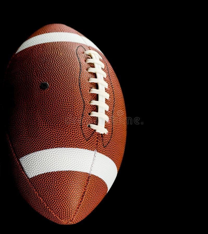 svart fotboll royaltyfria foton