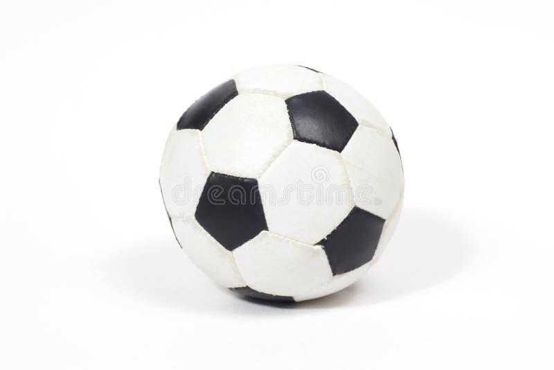 svart fotbollwhite royaltyfria bilder