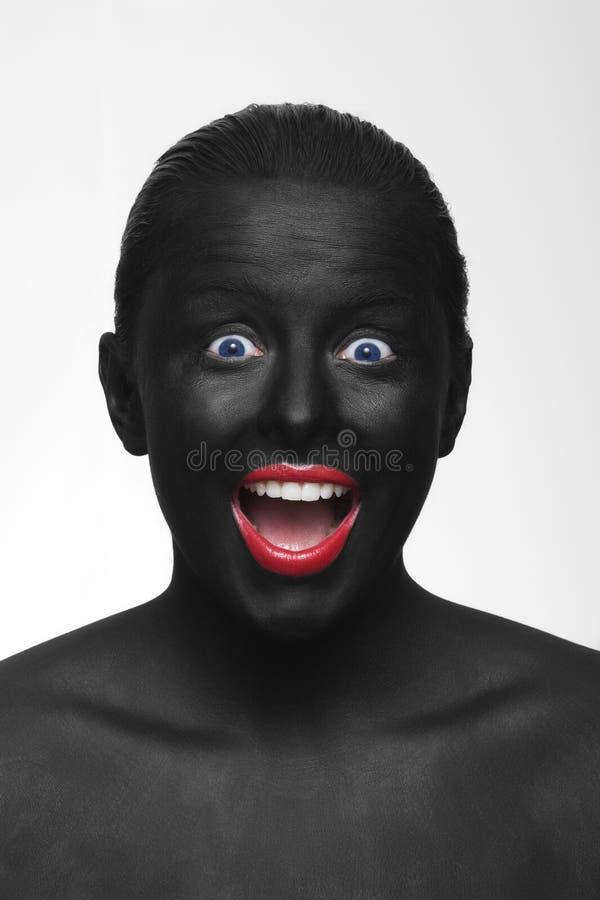 svart framsida royaltyfria bilder