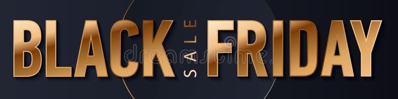 Svart fredag f?rs?ljningsguld bl?nker bakgrund Svart skenguld mousserar bakgrund Toppen fredag f?rs?ljningslogo f?r baner, reng?r vektor illustrationer
