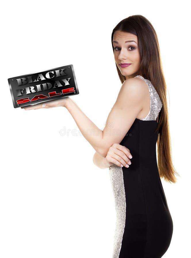 svart friday försäljning arkivfoto