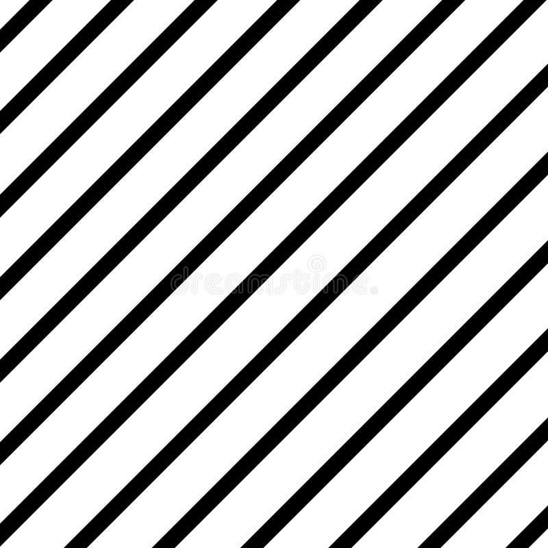 Svart gjorde randig linjer textur på vit bakgrund seamless vektor illustrationer