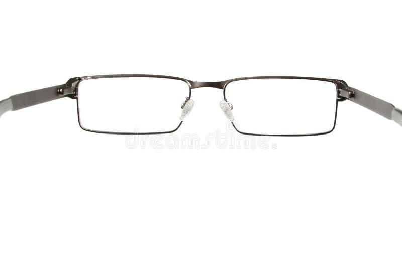 svart glasögon royaltyfria bilder