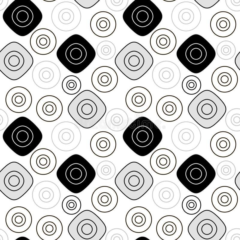 Svart grått geometriskt smattrande vektor illustrationer