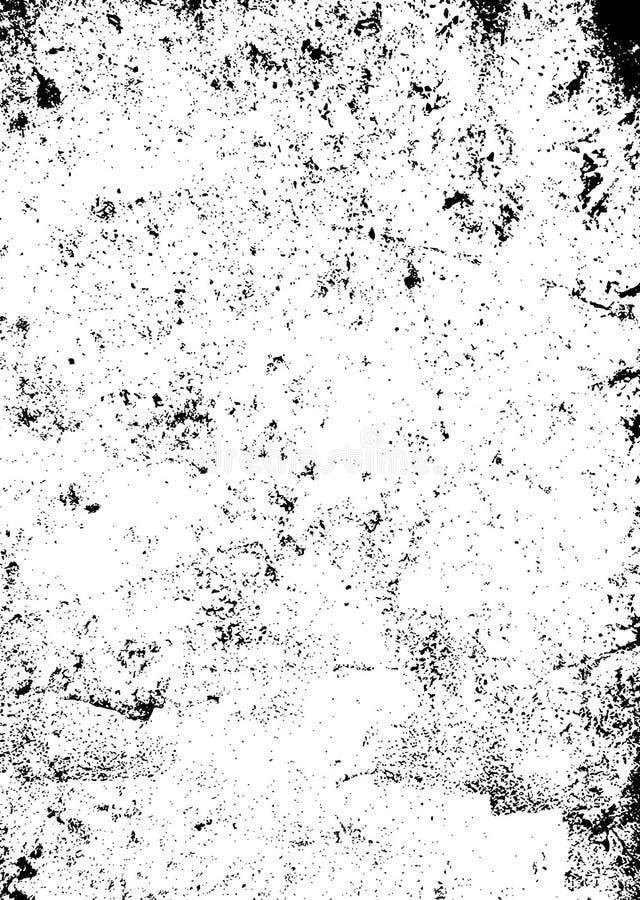 svart grungetextur stock illustrationer