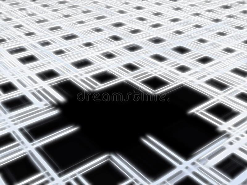 svart hål royaltyfri illustrationer