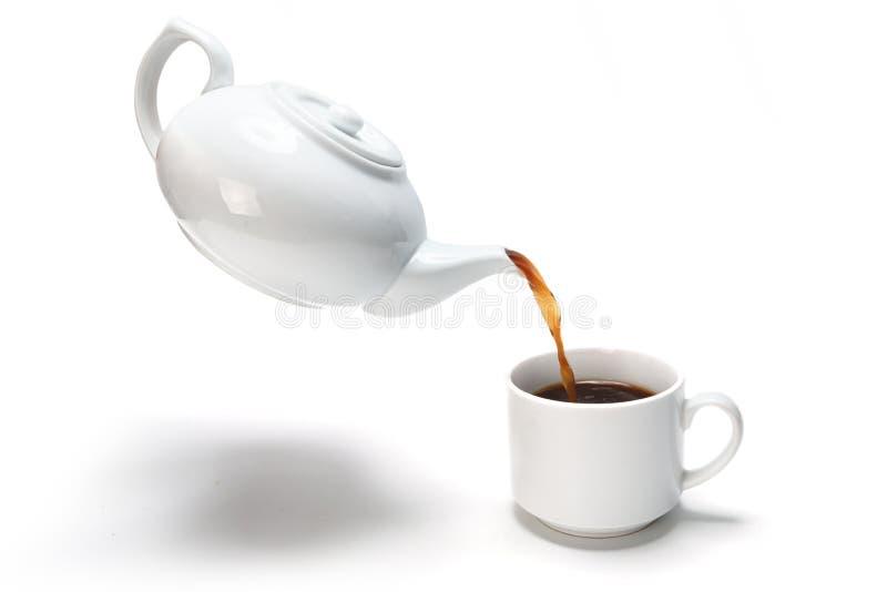 svart kaffe royaltyfri bild