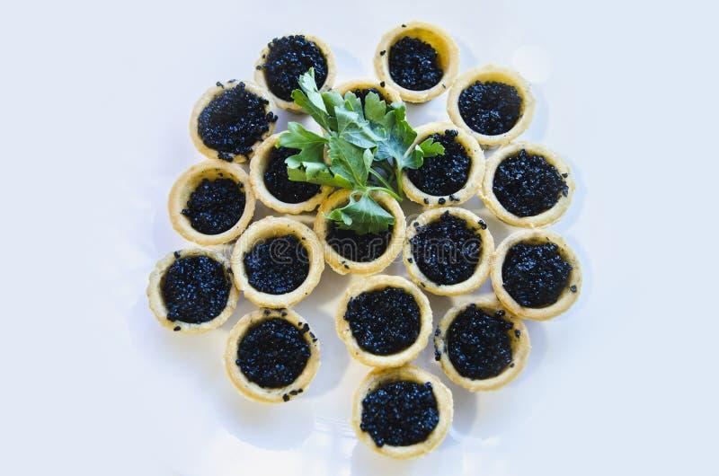 svart kaviar royaltyfri bild