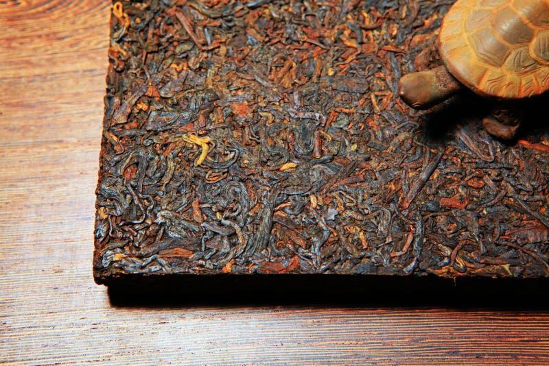 Svart kinesiskt te inget keramiskt diagram arkivfoton