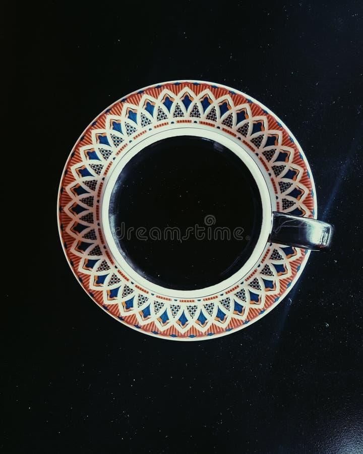 svart kopp arkivfoton