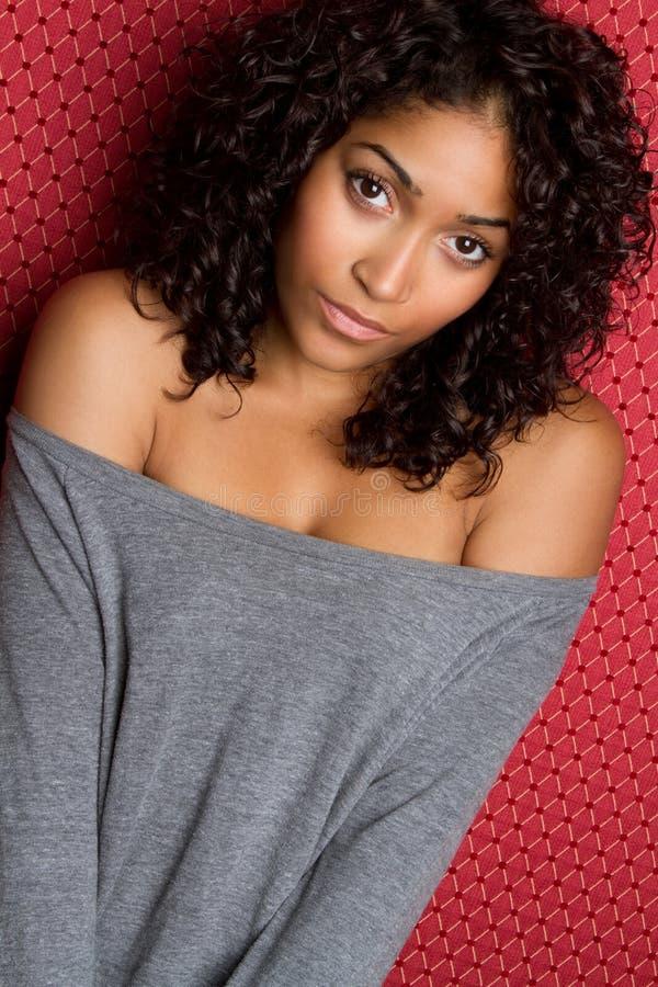 svart kvinna royaltyfria foton