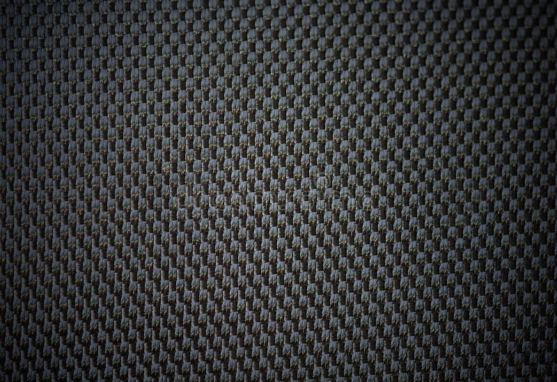 Svart läder för textur från bilsäten fotografering för bildbyråer