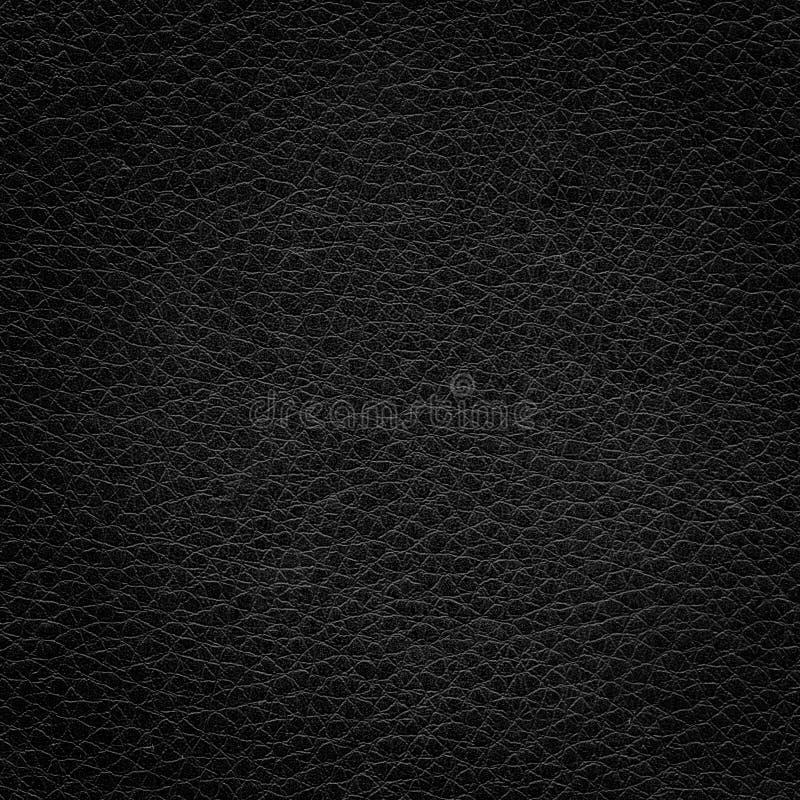 svart lädertextur
