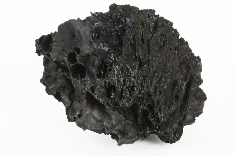 svart lavarock arkivbild
