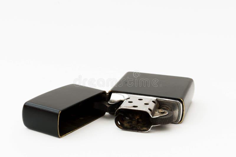 svart lighter royaltyfri fotografi