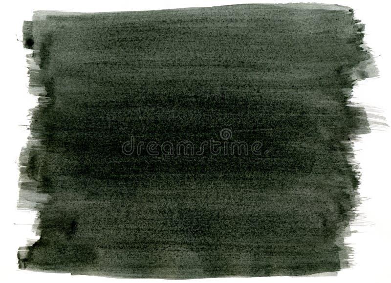 svart målarfärg för bakgrund arkivfoto