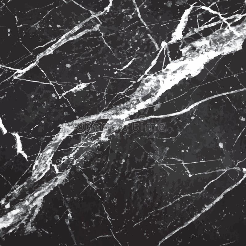 Svart marmorbakgrund arkivbild