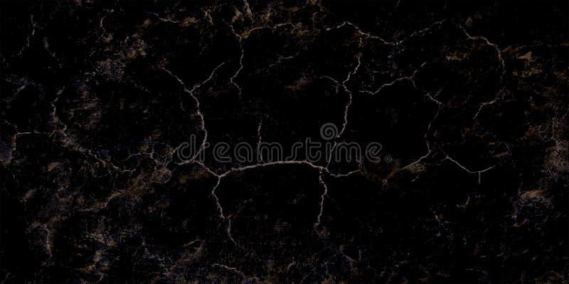 Svart marmortextur som igenom skjutas med den subtila vita veining naturliga modellen för bakgrund eller bakgrund, kan också an royaltyfri fotografi