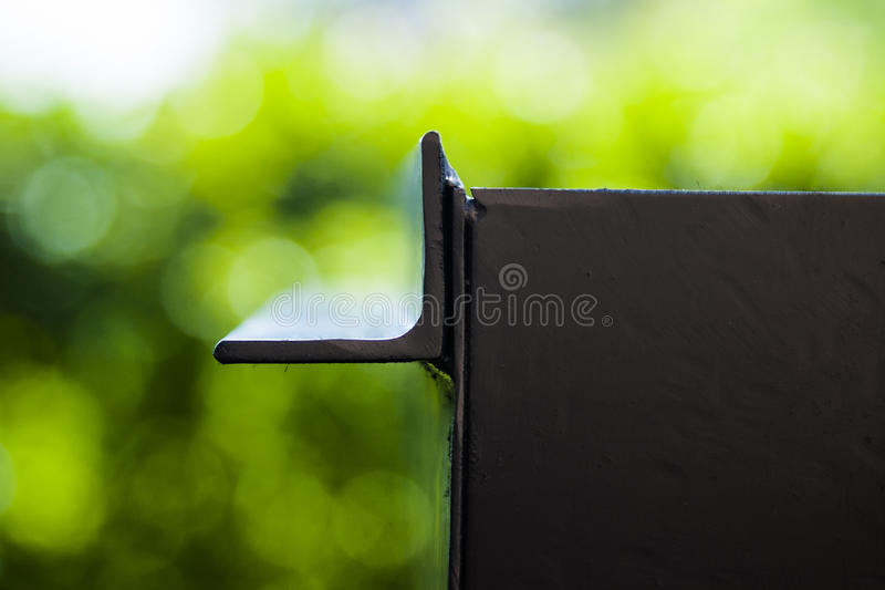 svart metall royaltyfri bild