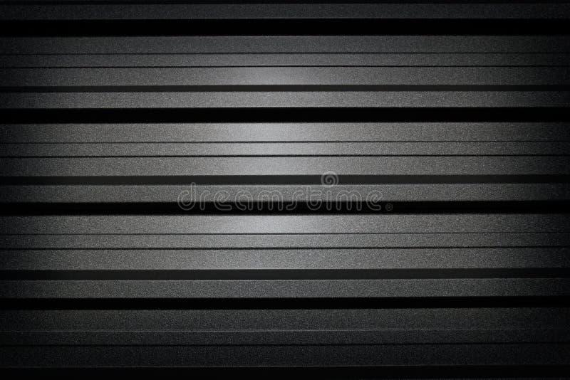 svart metall för bakgrund arkivbild