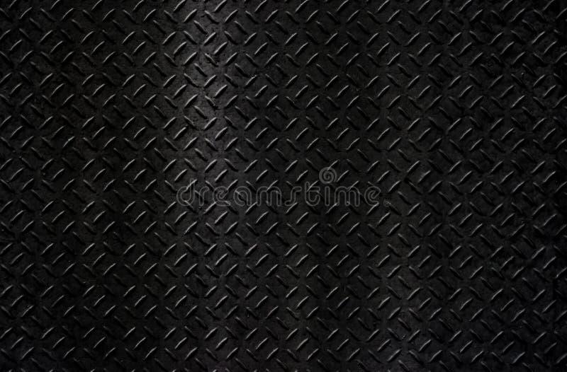 Svart metalltexturbakgrund royaltyfria bilder