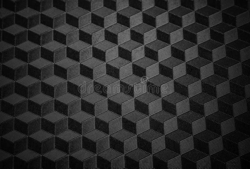 Svart minimalistic textur royaltyfri bild