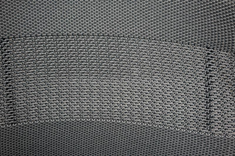 Svart och grå syntetisk nylontygväv för textur royaltyfri foto