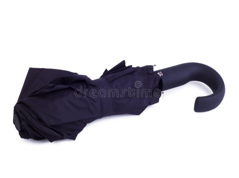 svart paraply royaltyfri foto