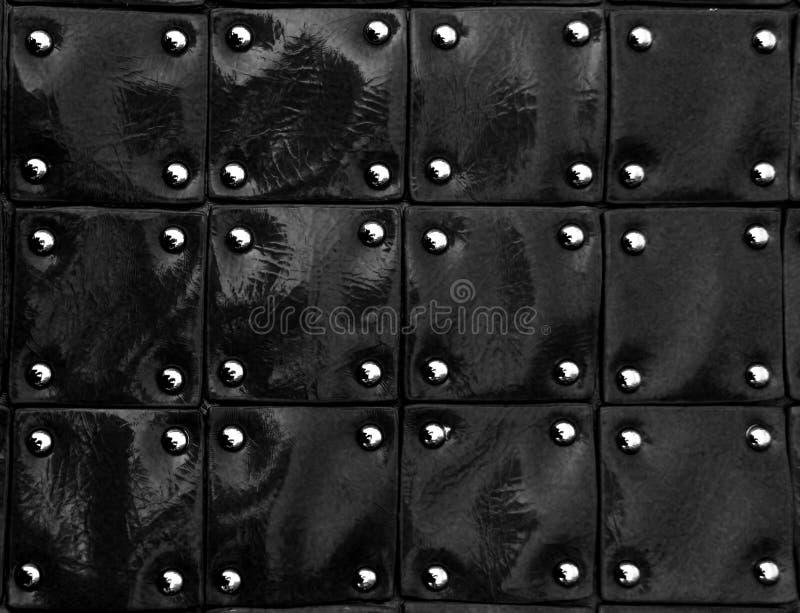 Svart patenterat läder texturerar royaltyfria bilder
