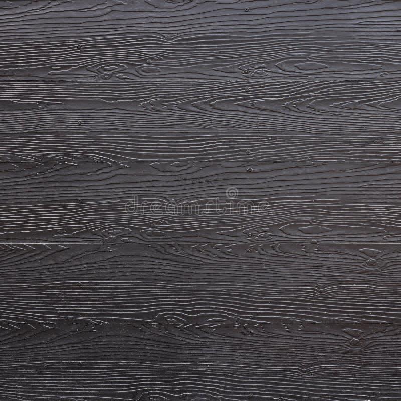 Svart plankabakgrund för trä royaltyfri bild