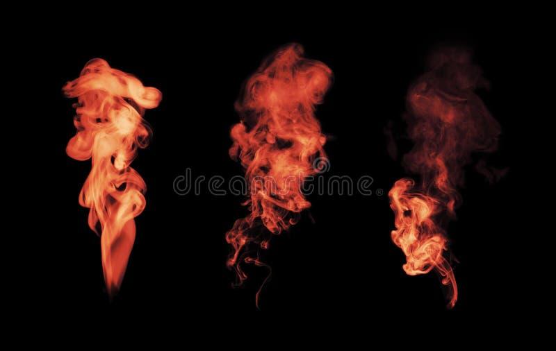 svart rökwhite fotografering för bildbyråer