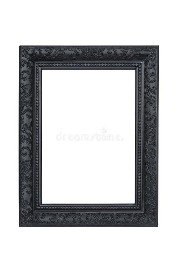 svart rambild arkivbild