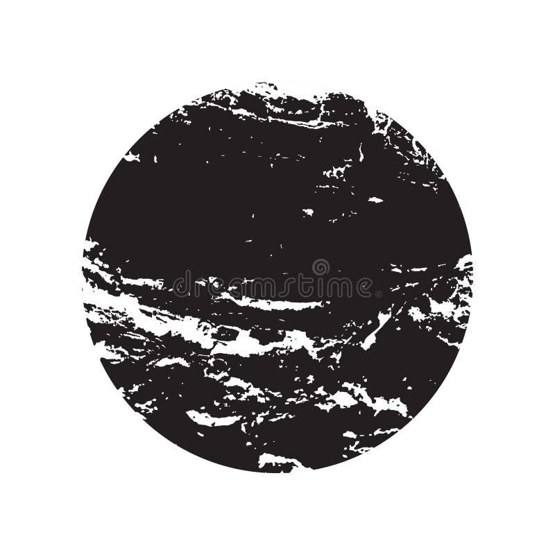 svart ramgrunge royaltyfri illustrationer