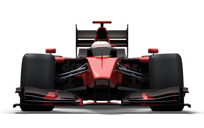 svart red för bilrace stock illustrationer