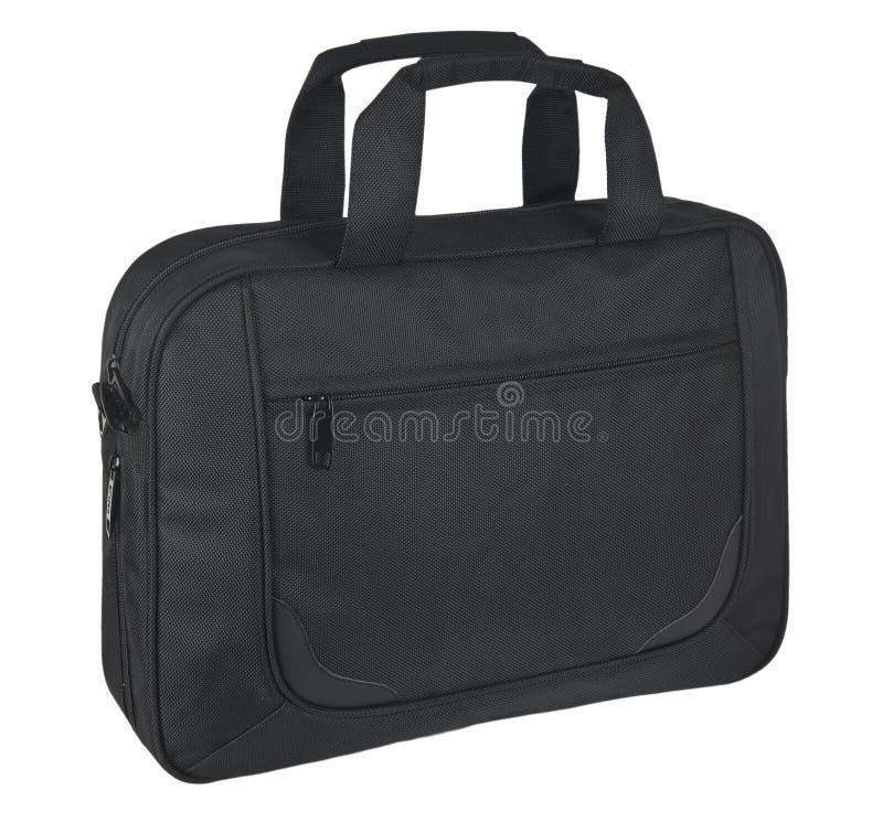 svart resväskawhite för bakgrund royaltyfri fotografi