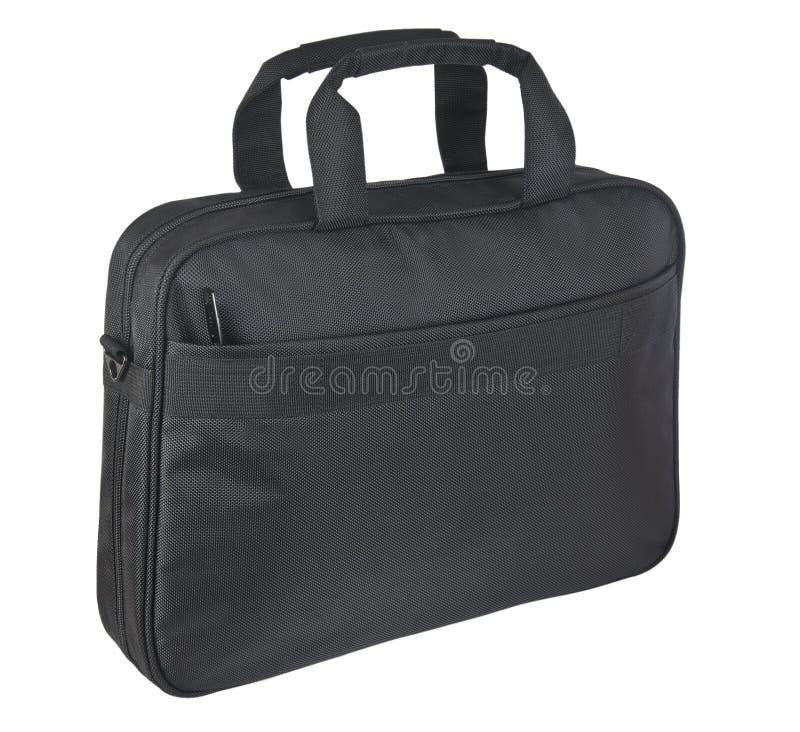 svart resväskawhite för bakgrund arkivbilder