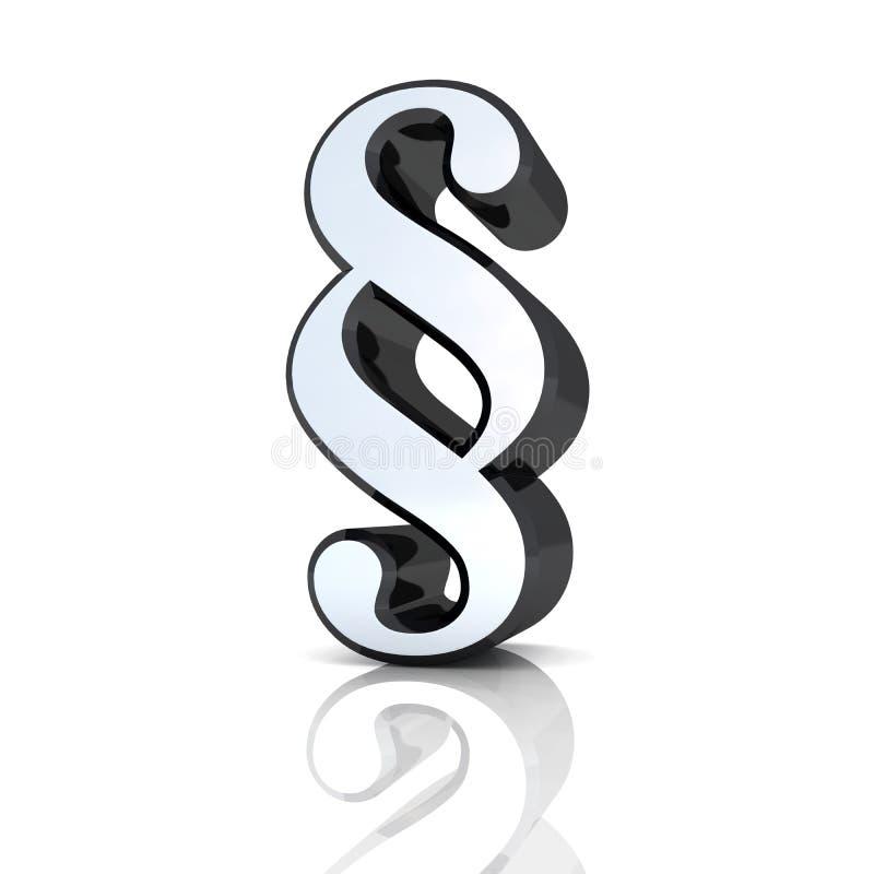 svart silversymbol för avsnitt 3d vektor illustrationer