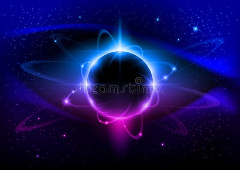 svart stjärna royaltyfri illustrationer