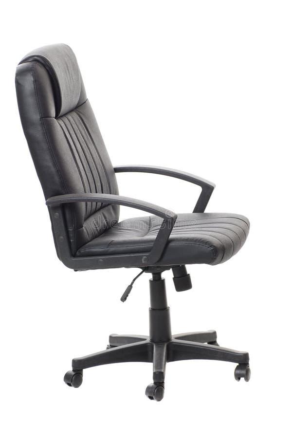 svart stolskontor royaltyfria foton