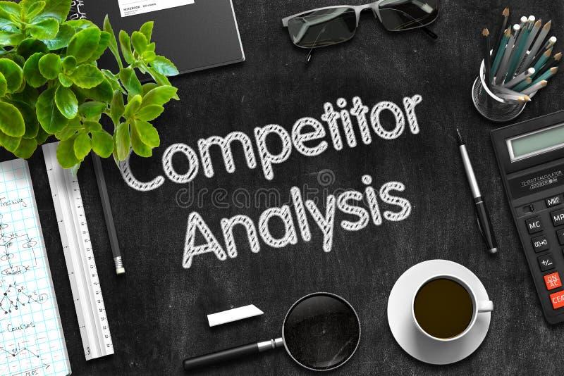 Download Svart Svart Tavla Med Konkurrentanalys Framförande 3d Fotografering för Bildbyråer - Bild av konkurrenskraftigt, affär: 78728083