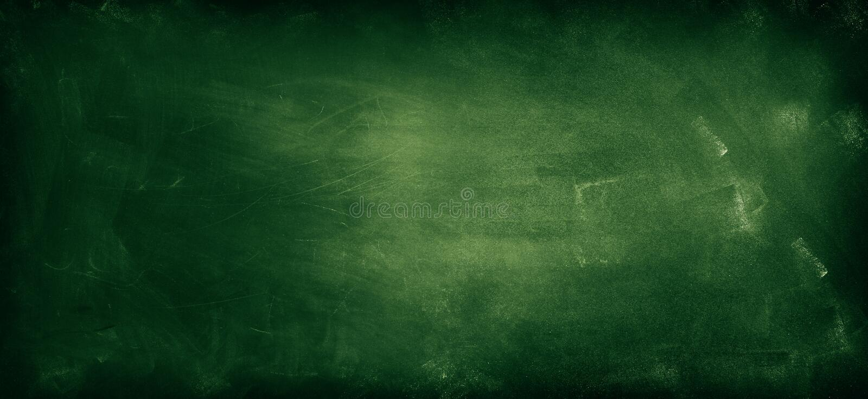 Svart tavla eller svart tavla arkivbild