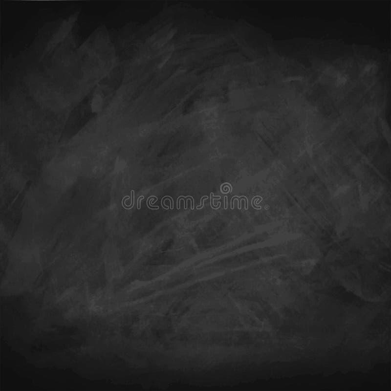 Svart svart tavlabakgrund, vektorillustration vektor illustrationer