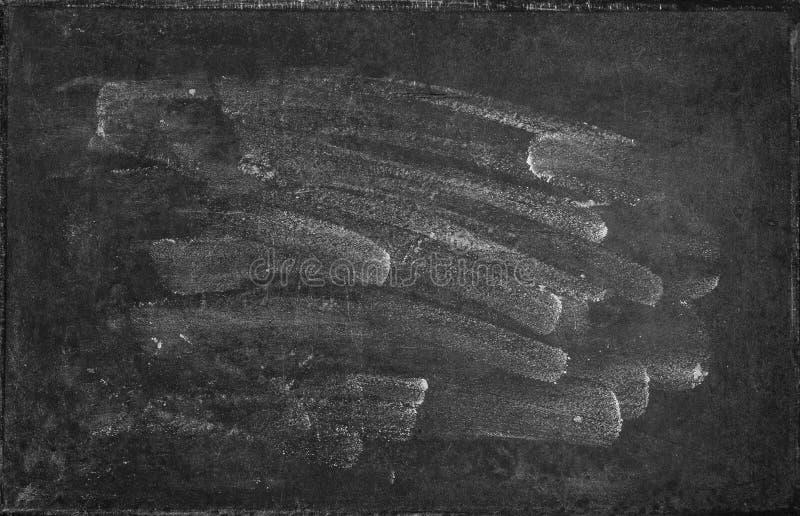Svart tavlatextur Tom svart tavlabackgroud royaltyfri fotografi