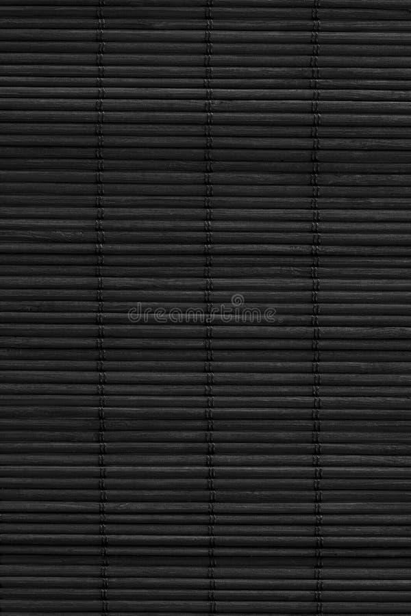 svart textur för bambu arkivfoto