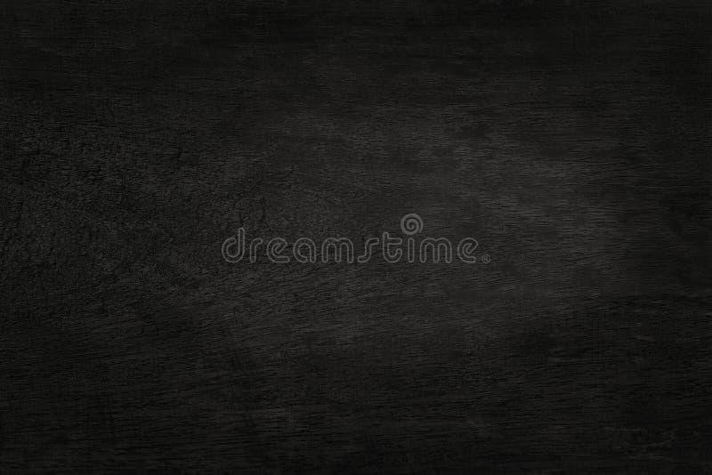 Svart träväggbakgrund, textur av mörkt skällträ med den gamla naturliga modellen arkivfoto