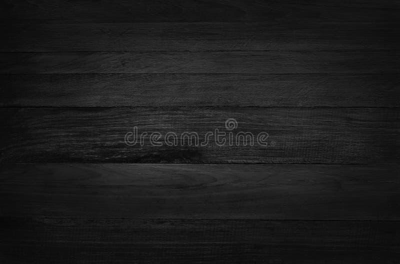Svart träväggbakgrund, textur av mörkt skällträ med den gamla naturliga modellen för designkonstarbete, bästa sikt av korntimmer arkivfoton